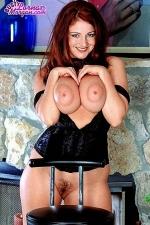 Big tits corset Lorna Morgan