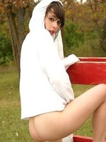 hotty teen  Ariel Rebel outdoor nude