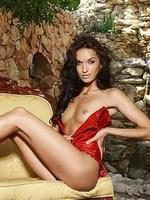 Olga M nude outdoor