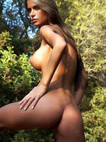 Nessa beauty curves in outdoor