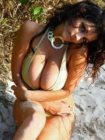 Denise Milani wild