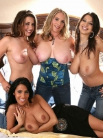 Huge boobs party