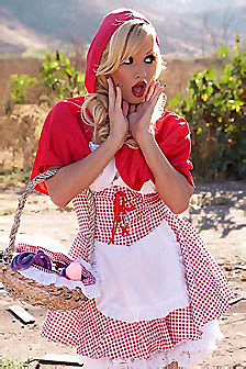 Angie Savage Is Little Red Riding Hood