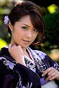 Asian Beauty Mihiro Taniguchi In Kimono