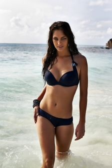 Candice Boucher Poses Bikinis Collection