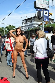 Michaela Isizzu In Public