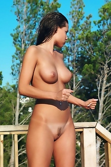 Satin Bloom Shows Her Great Body