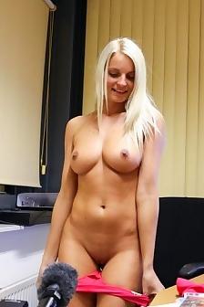 Busty Jessie Strips