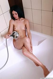Helga With Shower Head