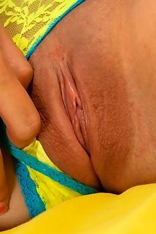 Sasha Hot Yellow Bra