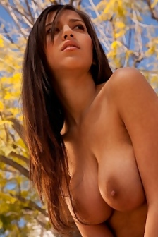 April ONeil Takes Off Top