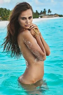 Xenia Deli - Sand In Vag Photoshoot In The Seychelles - Spring 2015