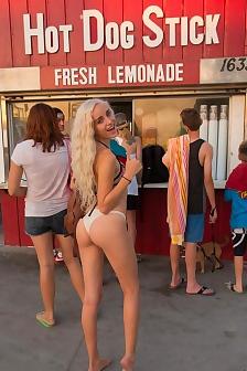 Naomi At The Beach