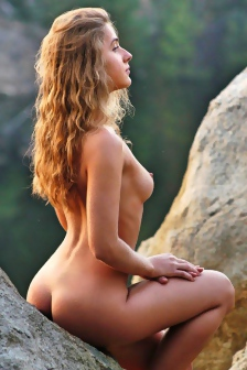 Ira Nude In The Nature