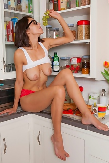 Belle Wood In The Kitchen