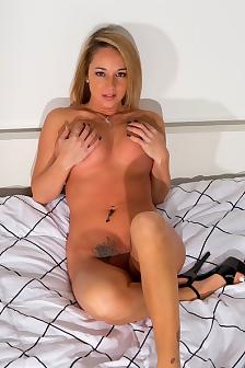 Nikki In Black Bra
