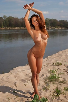 Fit Vixen By The River