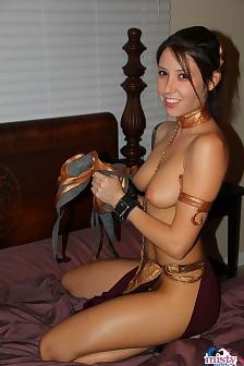 Misty Gates Slave Leia Nude