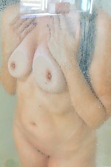 Allie In Shower Time