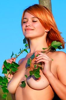 Amazing Redhead Babe Violla A
