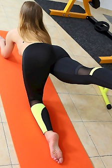 Babe Olivia Grace Bangs Her Fitness Instructor