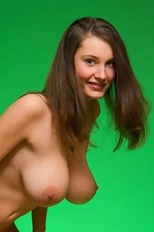 Ashley Framed In Green